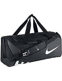 Nike Alph Adpt Crssbdy Dffl Bolsa, Hombre, Negro / Blanco (Black / Black / White), Talla Única
