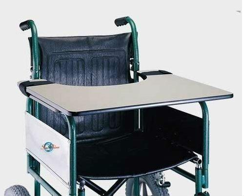 Rollstuhl-Tisch, Befestigung am Rollstuhl,Ess- und Schreibhilfe -