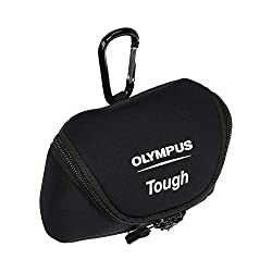 Olympus Neoprene Tough Case Beuteltasche Schwarz - Kamerataschen/-Koffer (Beuteltasche, Olympus, Schwarz)