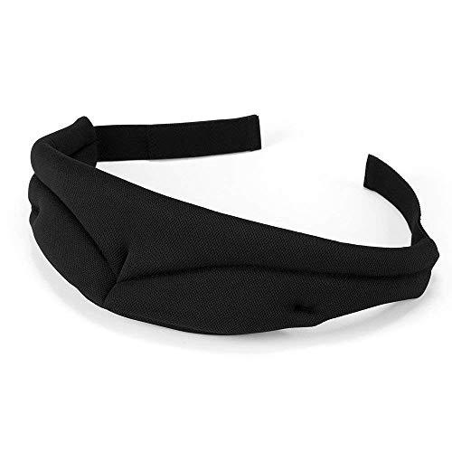 Cocoda Schlafmaske mit verstellbarem Gürtel und Tragetasche, 100% Dunkelheit Superleicht Hautfreundlich, ideal für Reisen Nickerchen Meditation, Herren und Frauen