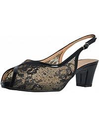 Platino Zapatos de Tacón, Color Negro, Marca, Modelo Zapatos De Tacón NEFER LL Negro
