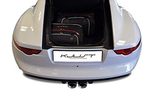 Preisvergleich Produktbild Kjust Carbags MASSGESCHNIEDERTE REISE-AUTOTASCHEN FÜR JAGUAR F-TYPE COUPE 2012- KJUST