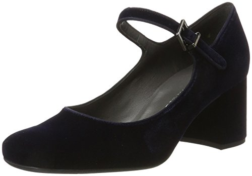 Peter Kaiser Damen Carrih Pumps, Blau (Navy Velvo Suede), 40 EU
