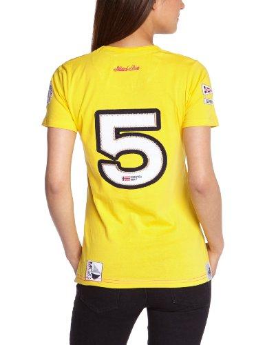 Geographical Norway Damen T-shirt Gelb (Yellow)