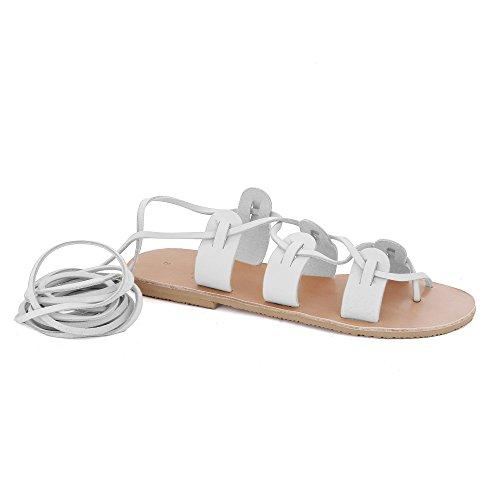 MAC  Polyhymnia, Sandales pour femme Blanc - blanc