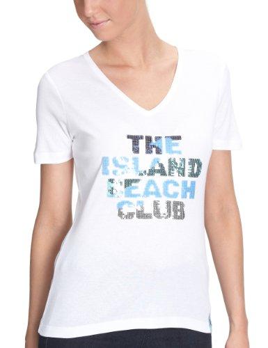 Jette Damen Shirt/ T-Shirt,  411105 Weiß (white 10)