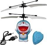 #8: Kids Bazaar Hello Kitty, Doremon, Minion , Apple Mini Flying Minion Sensor with Remote Control Mini RC fly Toys ( design as per availability)