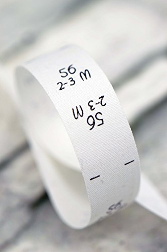 Größenetiketten 56 2-3 Monate, für Kleidung, Babys und Kinder, zum Einnähen, Einzelgröße, 25 Stück, Textiletiketten, Einnähetiketten, nähen 0,20 €/St.