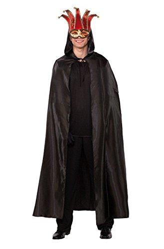 Imagen de fyasa 706280 t04 negr veneciano capa disfraz, negro, grande