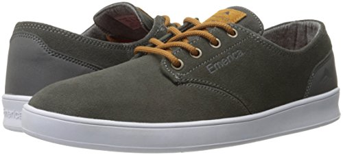 Le skate hommes Chaussures Emerica Romero Lacets skate chaussures GREY/BROWN