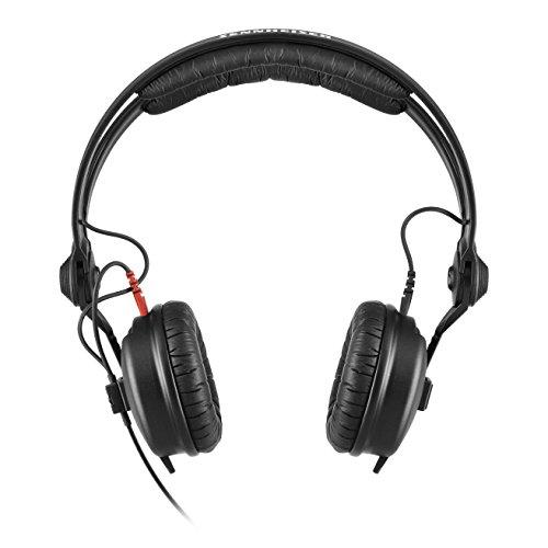 Sennheiser HD 25 Black Supraaural headphone - headphones (Supraaural, 16 - 220000 Hz, 120 dB, 70 Ω, Wired, 1.5 m)