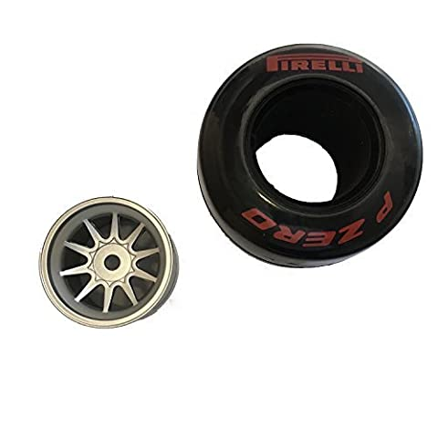 Reifen supersoft mit Einlage und Felge Kyosho RB7-113
