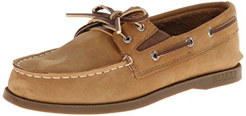 Sperries Jungen (Sperry Authentic Original Boat Shoe (Toddler/Little Kid/Big Kid),Sahara,6 M US Big Kid)
