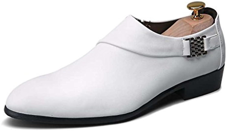 ZXCV Outdoor Schuhe Trend Schuhe England Männer Mode Sets Von Füßen Lässig Matte Leder Ein Pedal Zeigte Schuhe
