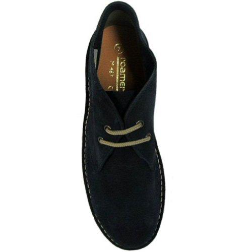 Blu Stivali Navy Camoscio Roaming In Boots Desert TIqnfOH
