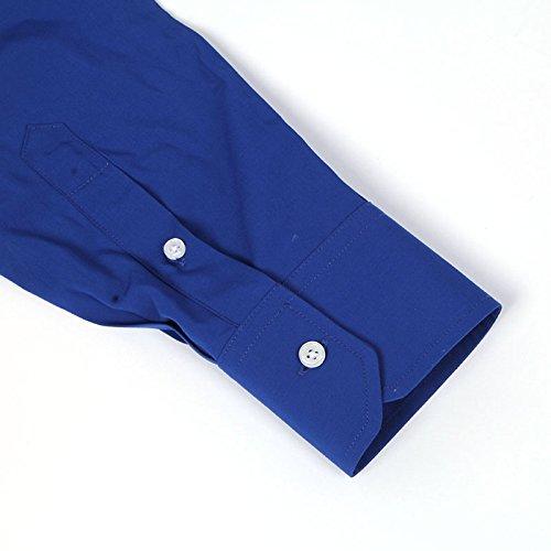 "BANQERT Herren Langarmhemd ""SMART SWAG"" | Blau"