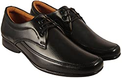 Action Synergy Mens PL4493 Black Formal Shoes