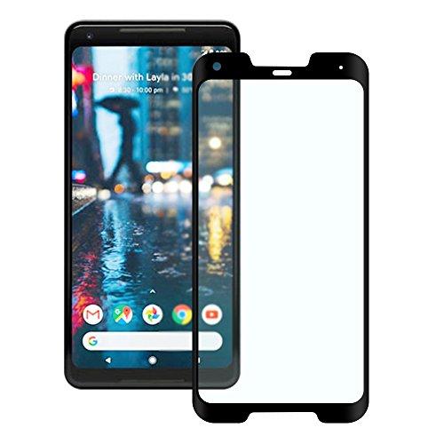Google Pixel 2 XL Panzerglas Schutzfolie Feitenn 3D Touch Kompatibel Displayschutzfolie für Google Pixel 2 XL, 6 Zoll | ultradünn-0.26mm, 9H Härte und 99% transparent