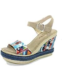 817045b4a91 Amazon.es: Sandalias Altas De Mujer - 40 / Zapatos para mujer ...