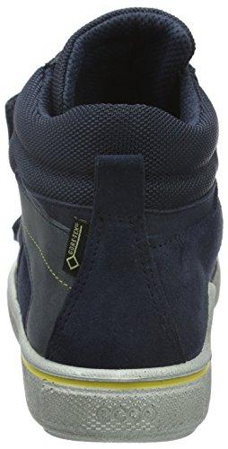 Ecco Jungen Glyder Hohe Sneakers Blau (MARINE50595)