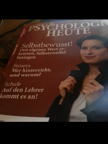 BELTZ Zeitschriften Psychologie Heute September 2012