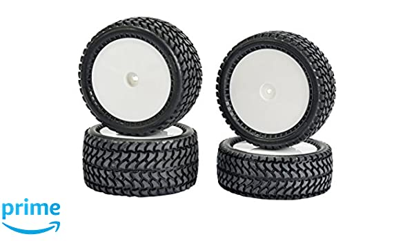 4 Carson 500900136 1:10 All Terrain 4WD Reifen-Set