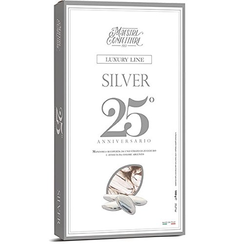 Confetta mandorla pz.250 -argento