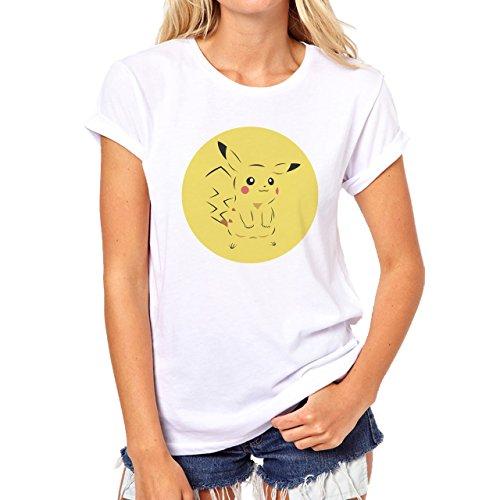 Get Pikachu As Your Starter Pokemon Go Quality Damen T-Shirt Weiß
