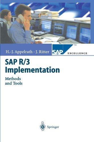 SAP R/3 Implementation: Methods and Tools (SAP Excellence) by Hans-J????rgen Appelrath (2010-12-05) par Hans-J????rgen Appelrath;J????rg Ritter