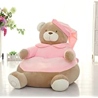MAXYOYO Creative Schlafanzüge Bär mit Gap Weich Gefüllt PP Baumwolle Plüsch Spielzeug Sitzsack, Big Bear Sofa Sitz für Kinder, Tolles Geschenk für Kinder Pink Bear preisvergleich bei kinderzimmerdekopreise.eu