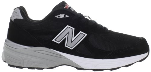 New Balance M990 Mens - Black with Grey & White
