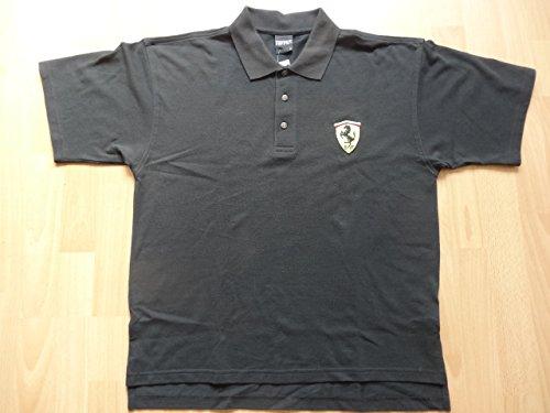 Ferrari Polo Shirt schwarz Größe M