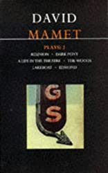 Plays:2 Reunion/ Dark Pony/ A Life in the Theatre/ the Woods/ Lakeboat/ Edmond by David Mamet (1996-09-23)