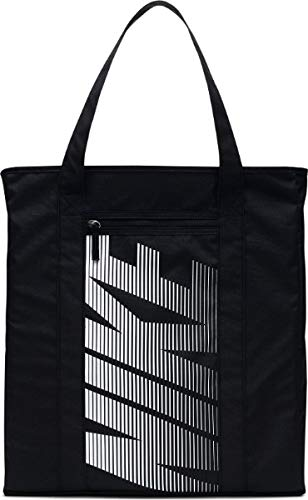 Bag W Nk Gym Tote, Black/Black/(Vast Grey), MISC, BA5446 ()