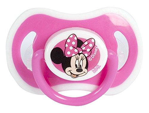 lulabi 8118400Silikon Schnuller kiefergerecht für 3Monate, Disney Minnie