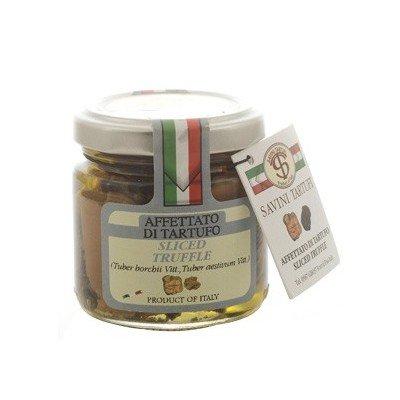 Savini Tartufi - TRUFFE BLANCHE & BLANCHETTE EN LAMELLES 90GR - Produit artisanal italien