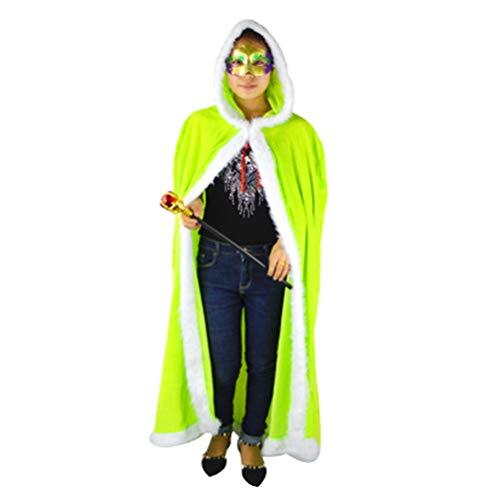 Zhhlinyuan Leichtgewicht Halloween Kapuzenumhang - Niedlich Maskerade Party -