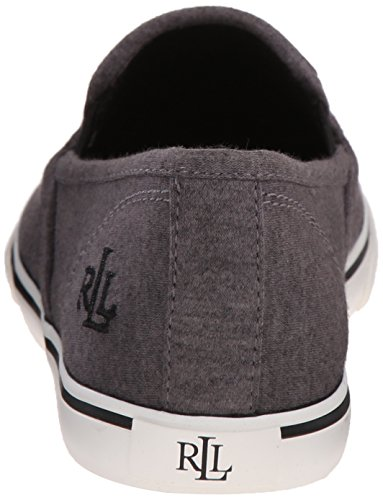 Lauren Ralph Lauren Janis Fashion Sneaker Black Jersey Knit