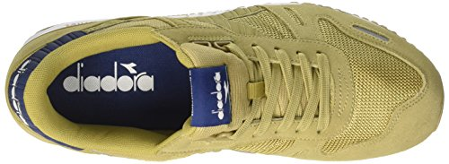 Diadora Titan II, Chaussures de Gymnastique Homme Vert (Khaki/estate Blue)