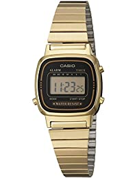 Casio LA670WG - Reloj de Señora metálico Oro / Negro