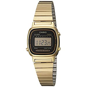 Casio Damen-Armbanduhr Digital Quarz LA670WGA-1DF