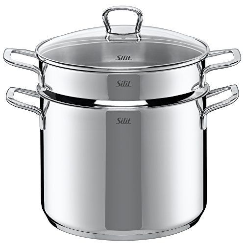 Silit 0524.6043.11 Pasta Pot with Lid 24 cm Style