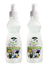 Top Bright Glass Cleaner Liquid,500ml,Pack of 2