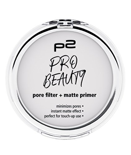 p2 cosmetics Pro Beauty Pore Filter + Matte Primer, 1er Pack (1 x 10 g)