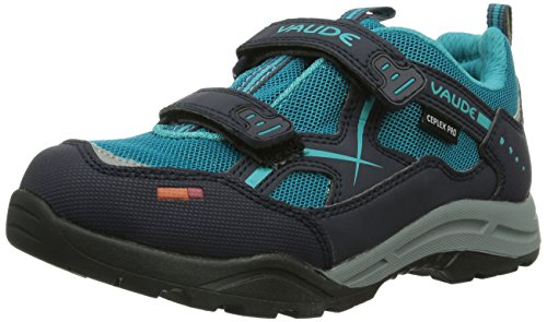 VAUDE Kids Pacer Ceplex, Jungen Outdoor Fitnessschuhe, Türkis (alpine lake 585), 34 EU (2 Kinder UK)