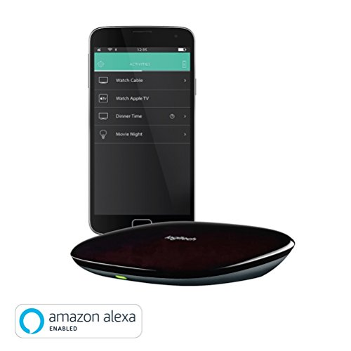 Logitech Harmony Hub (works with Amazon Alexa), black - home control via hub and app