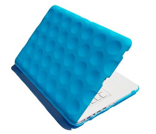 Hard Candy Cases STH-MAC13-BLU Bubble Shell Stealth Case für MacBook 33 cm (13 Zoll) blau (Cases Hard Candy)