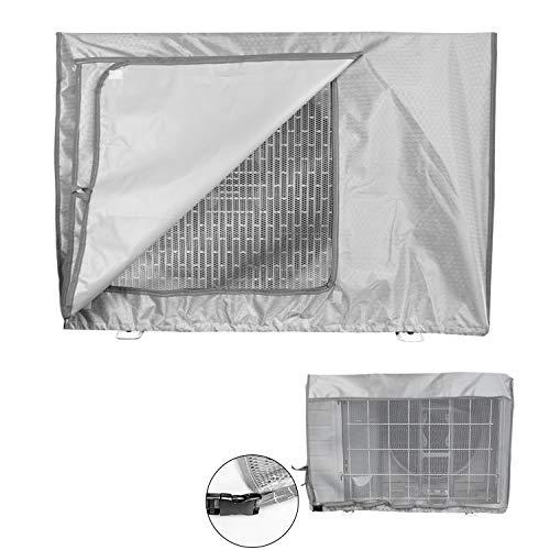 Copertura condizionatore esterno,coperchio del climatizzatore per esterni anti-polvere anti-neve impermeabile protector climatizzatore (86x 33 x 56cm)
