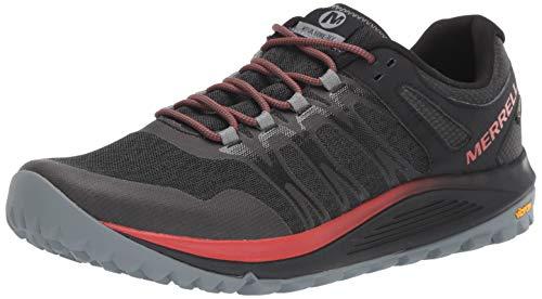 Merrell Nova GTX, Zapatillas de Running para Asfalto para Hombre, Negro (Black), 43 EU