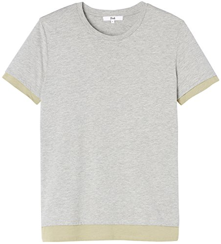 FIND Herren T-Shirt Grau (Grey Marl/Sand)
